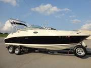 2008 Sea Ray 240 Sundeck w/ Wake Tower & Trailer